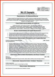 Professional Cv Examples Template Curriculum Vitae Pdf Cv Template