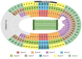 Usc Coliseum Seating Chart Los Angeles Memorial Coliseum Tickets In Los Angeles