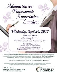 Administative Day Administrative Professionals Day Luncheon