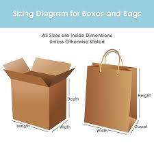 Cardboard Box Sizes Chart Corrugated Box Size Chart Bedowntowndaytona Com