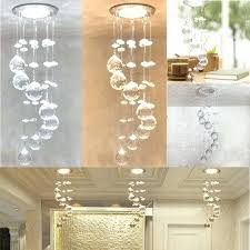 crystal chandelier lamp led crystal concealed ceiling light small chandelier lamp pendant hallway antique crystal chandelier