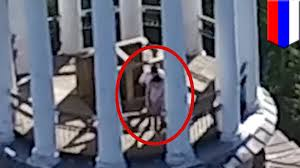 Public sex Couple getting jiggy atop a bell tower caught on drone.