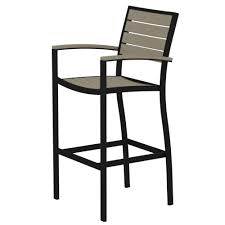 bar height patio chair: outdoor bar stools outdoor bar furniture patio furniture the