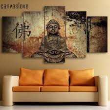 Paintings For The Living Room Online Buy Wholesale Buddha Wall Paintings Home Decor Living Room