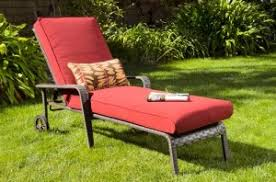 home trends outdoor furniture. Hometrends Rushreed Chaise Lounge Replacement Cushion Home Trends Outdoor Furniture P