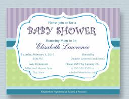 baby shower invite template word baby shower invitation templates 31 psd vector eps ai format
