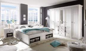 Schlafzimmer Set Serie California 4 Teilig 1 Bett 180 Cm 2