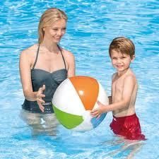 Beach ball in ocean Background Walmart Canada Intex Trading Ltd Inflatable Ocean Beach Ball Walmart Canada