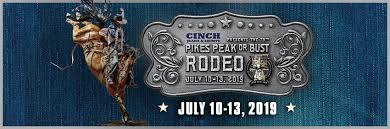 Norris Penrose Event Center Seating Chart Tickets For 79th Cinch Pikes Peak Or Bust Rodeo In Colorado