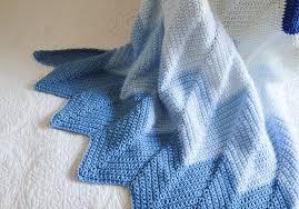 Crocheted Chevron Baby Blanket Pattern — Lady By The Bay & Lady by the Bay - Crocheted Chevron Baby Blanket Pattern Adamdwight.com