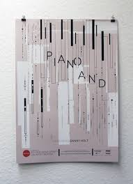 Piano And: Featuring Danny Holt | REDCAT Posters | Japan graphic design,  Graphic poster, Book design layout