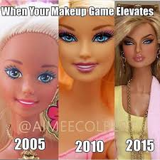 when your makeup game elevates