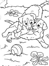 Kleurplaten Dieren Puppies