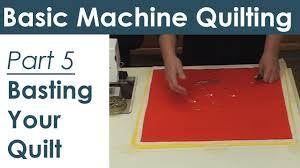 How to Baste a Quilt for Machine Quilting Preparing Your Quilt ... & How to Baste a Quilt for Machine Quilting Preparing Your Quilt Sandwich -  YouTube Adamdwight.com