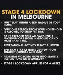 Stage 4 lockdown imposed on 2 august 2020. Wines In Lockdown Stage 4 Melbourne