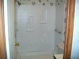 one piece bathtub enclosures liners and wall surrounds surround replace mobile home