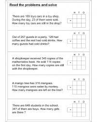 Elementary Math Word Problems Worksheet Free Printable Addition ...