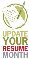 ... Unusual Design Ideas Resume Update 13 Update Your Resume Month Contest  ...