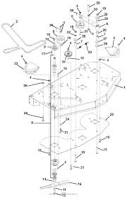 Gravely 915054 000101 004999 mini zt 1540 parts diagram for 40 rh jackssmallengines for zero