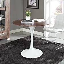 36 Inch Round Table Top Lippa Saarinen Inspired 36 Inch Round Marble Top Dining Table