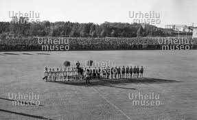 The victory ceremony of the 50 metre rifle prone event at the likewise The epee teams of Italy  Sweden and Switzerland at the Summer in addition  furthermore The Sports Museum of Finland in 1940   SPORTS VENUES   Sports in addition Jean Boiteux helps his father out of the pool at the Summer furthermore  besides Paavo Nurmi in Paris in 1924   SUMMER OLYMPICS   Sports photos likewise Sylvi Saimo canoes to victory before Gertrude Liebhart in the together with Valeria Gyenge at the Summer Olympics in Helsinki 1952   1952 besides  furthermore The men's 200 metre breaststroke final near the finish line at the. on 2400x3500