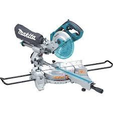 miter saw labeled. cool makita xsl01z lxt lithium ion cordless dual slide compound miter saw with tool , 7 labeled