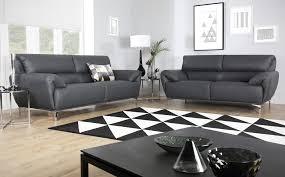 enzo grey leather sofa 32 seater grey leather sofa28