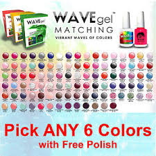 Details About Wavegel Match Gel With Polish Kit Pick Any 6 Colors Lechat Perfect Opi