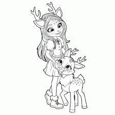 Schattige Enchantimals Kleurplaten Leuk Voor Kids