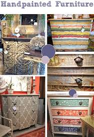 Whimsical Hand Painted Art Furniture | Crafts I May or May Not Attempt But  Love