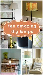 Diy Lamps Remodelaholic Top 10 Beautiful Diy Lamps And Link Party