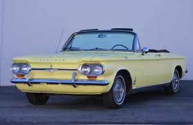 1964 Chevrolet Corvair Monza Spyder Turbo Convertible 4-Speed for ...