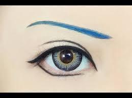 tutorial anime eye makeup 118 aoba seragaki