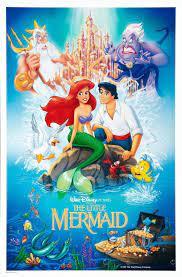 A PEQUENA SEREIA 1(1989)   Phim hoạt hình, Disney, Posters