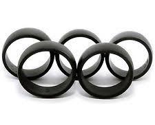 <b>5 Silicone</b> Wedding Rings Men's <b>Sizes</b> 8 9 10 11 12. Insures Getting ...