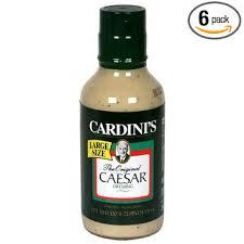 cardinis caesar salad dressing. Modren Dressing Cardini Original Caesar Dressing 20Ounce Bottles Pack Of 6 To Cardinis Salad Dressing Amazoncom