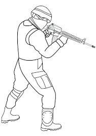 Coloring Pages Army Soldier Coloring Pages Colouring Army Soldier