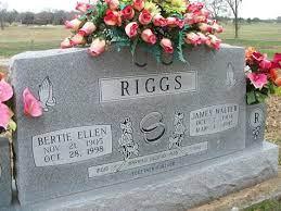 Bertie Ellen Wallace Riggs (1905-1998) - Find A Grave Memorial