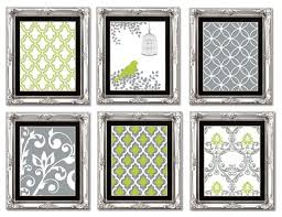 gallery wall art prints lime green and gray on gallery wall art prints with gallery wall art prints lime green and gray contemporary prints