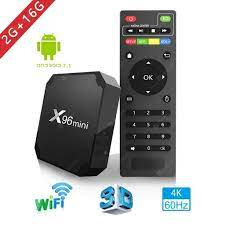 HX96 Mini 8G 16G Amlogic S905W Quad Core 4K WIFI Smart TV Box Android –  AnaDx.CA