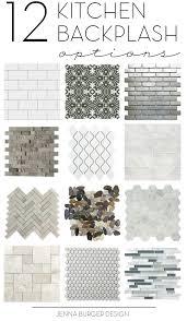 Patterned Tiles For Kitchen Kitchen Tile Backsplash Options Inspirational Ideas