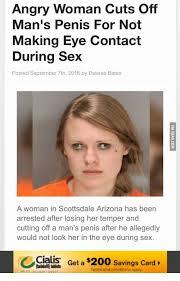 Women cutting off mens penis