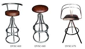genuine leather bar stools rustic australia