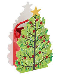 Gift Cards For Christmas American Greetings Christmas Gift Card Holder Christmas Tree