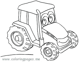 Coloring Page Tractor O8416 Coloring Pages Tractors John Tractor