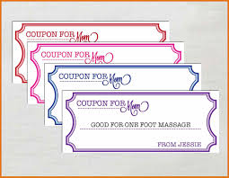 Coupon Template For Word Coupon Template Word Letter Format Business 1