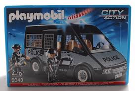 Playmobil City Action Police Van With Lights And Sound 6043 Playmobil City Action Police Van With Lights And Sound