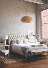 Superior Exposed Brick Bedroom Wall Inspiration