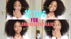 How To Grow Long Curly Hair 12 Tips Youtube Tips For Growing Out Thick Hair
