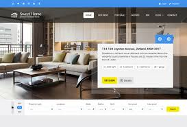 real state template 60 best html real estate website templates 2019